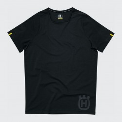 T-shirt HUSQVARNA PROGRESS - Noir