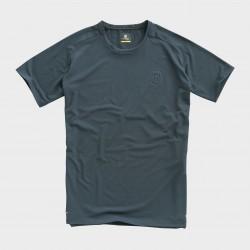 T-shirt HUSQVARNA ORIGIN - Bleu Gris
