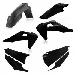 Kit plastiques complet ACERBIS HVA TE/FE '20 - Noir