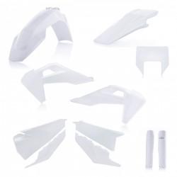 Kit plastiques super complet ACERBIS HVA TE/FE '20 - Blanc