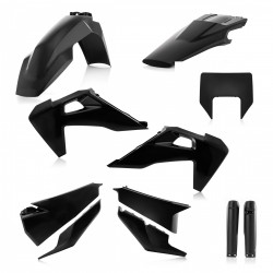 Kit plastiques super complet ACERBIS HVA TE/FE '20 - Noir
