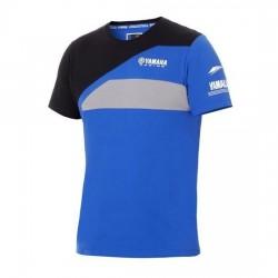 T-shirt YAMAHA Team Paddock Homme - Bleu