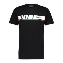 T-shirt YAMAHA MC Homme - Noir