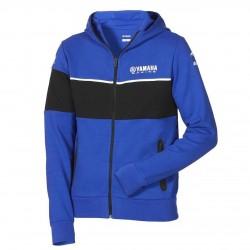 Sweat à capuche zippé YAMAHA Homme - Bleu