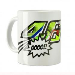 Mug Pop art blanc VR|46