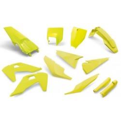 Kit plastiques - Jaune HVA
