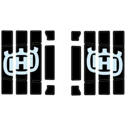 Kit d'autocollants pour grille de protection de radiateur