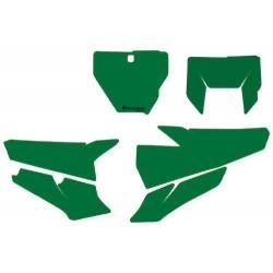 Autocollants de fond de plaque - Vert