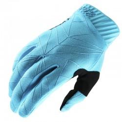 Gants 100% Ridefit - Noir / Ice bleu