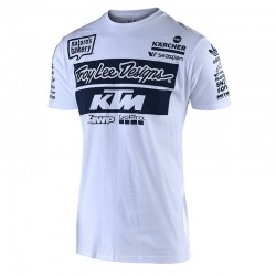 T-shirt Team KTM TLD - Blanc