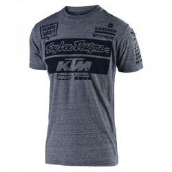 T-shirt Team KTM TLD - Gris vintage