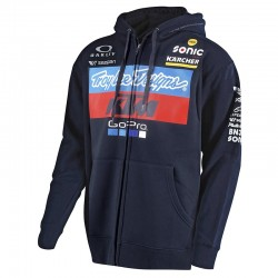 Sweat à capuche team KTM TLD - Marine