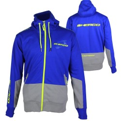 Sweat à capuche zippé homme SHERCO Team