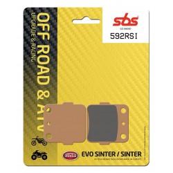 Plaquettes de frein SBS 592SI arrière