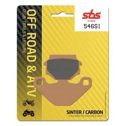 Plaquettes de frein SBS 546SI