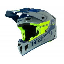 Casque KENNY Performance Gris - Jaune Fluo