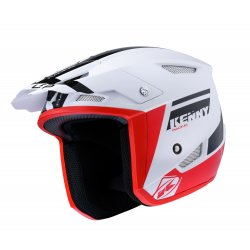 Casque KENNY Trial-up Noir - Rouge