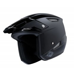 Casque KENNY Trial-up Solid - Noir