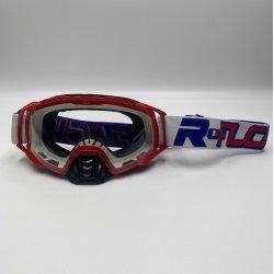 Masque RFLOW Patriot - Bleu / Blanc / Rouge