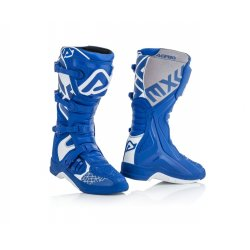 Bottes ACERBIS X-TEAM Bleu / Blanc