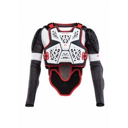 Gilet de protection ACERBIS Galaxy Blanc / Rouge