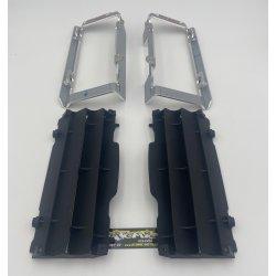 Protection de radiateur HVA/KTM/GASGAS Mecasystem avec grille 18/21